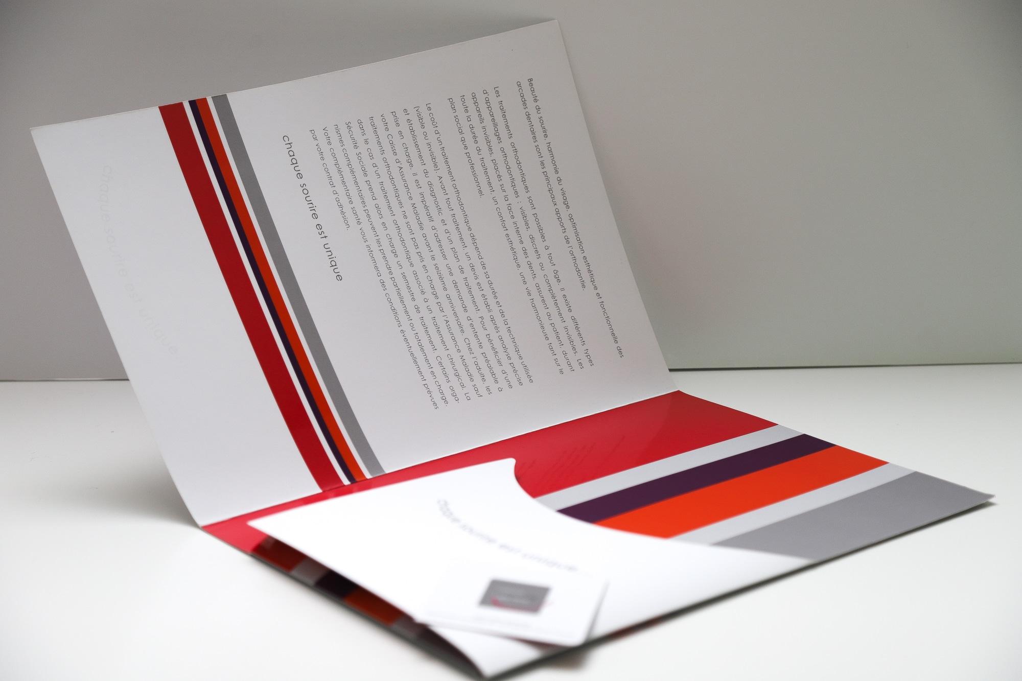 creation chemises portes-documents pour professions libérales - By Com' Empreintes