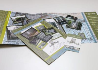 création plaquettes et cartes de visites