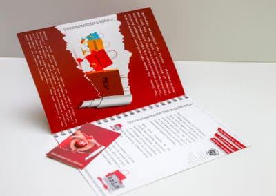 création plaquettes et cartes de visites A.P.L.M