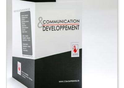 Création de plaquette, brochure, catalogue pour entreprise