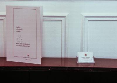 Création carte de visite + plaquette sur mesure pour professions libérales