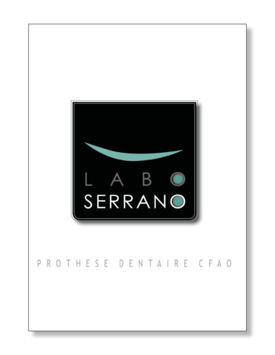 création logo sur mesure pour laboratoire - santé - By Com' Empreintes