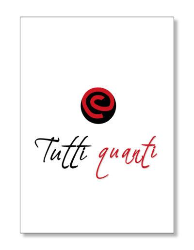 creation logo pour restaurant tutti quanti - By Com' Empreintes