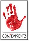 logo com empreintes ; agence de communication TPE PME