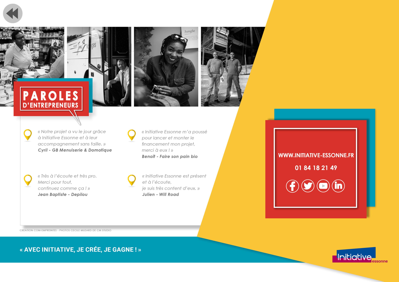 Création plaquette interactive PDF - par Com' Empreintes