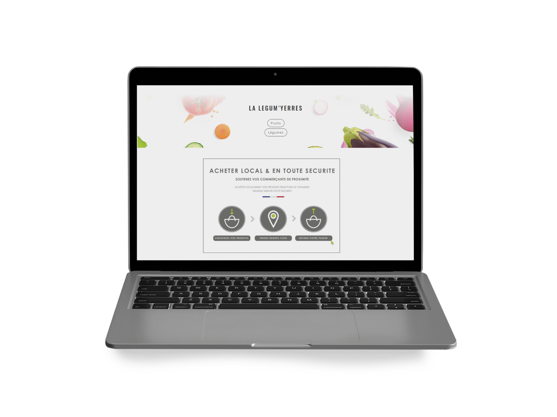 site web click and collect
