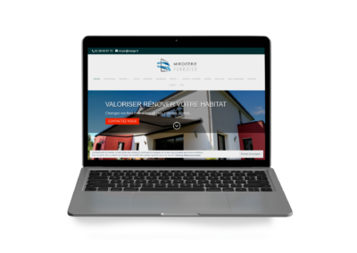 site web vitrine Miroiterie Yerroise