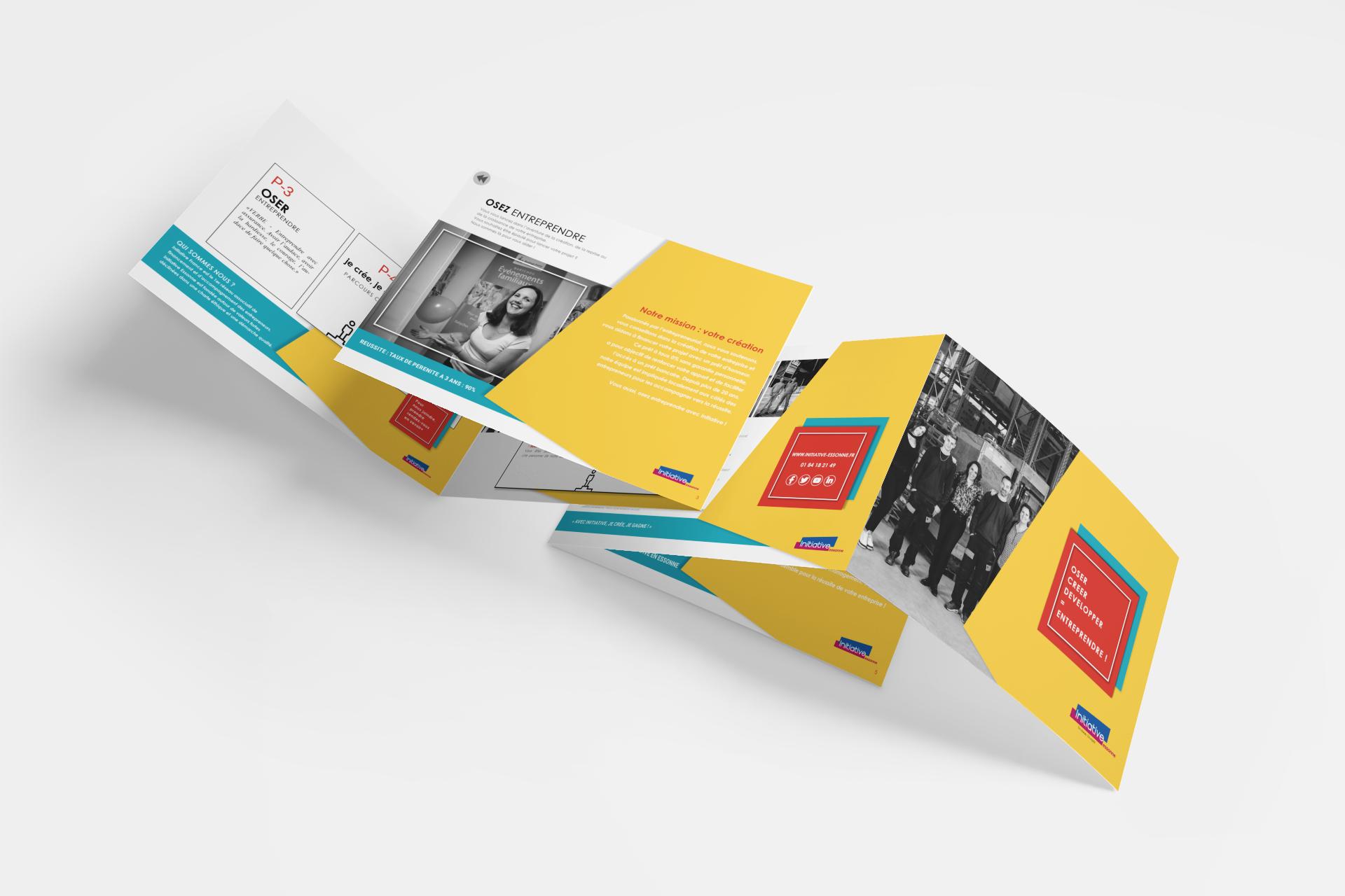 communication digitale / création plaquette pdf interactive par Com' Empreintes