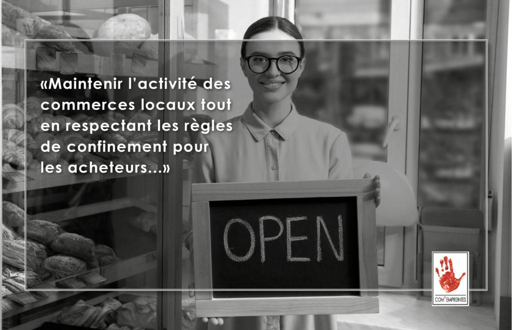 communication digitale - création site e-commerce click and collect par Com' Empreintes