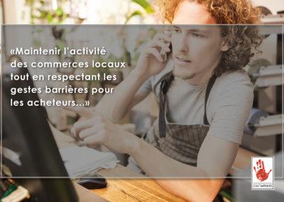 création site e-commercec et click and collect (vente à emporter)