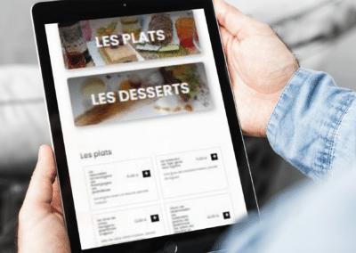 création site responsive pour restaurant