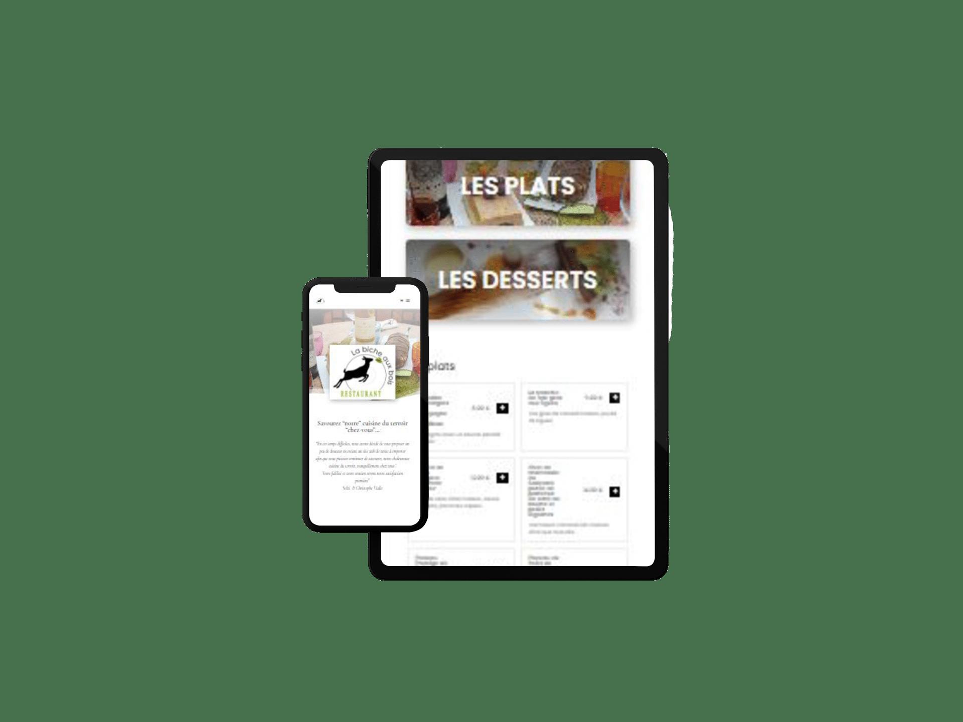 Création d'un site e-commerce click and collect -par Com' Empreintes