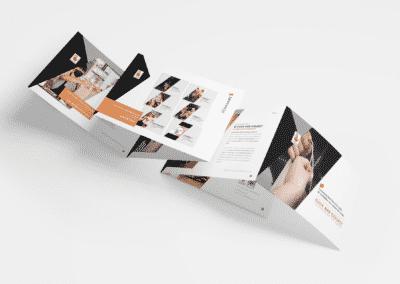 Plaquette digitale interactive pour une novatrice - par com empreintes