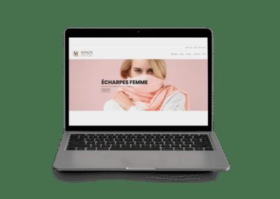 site web e-commerce Manon-Mode