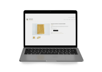 création site e-commerce manon mode