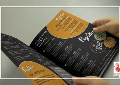 création de menu sur mesure par Com' Empreintes